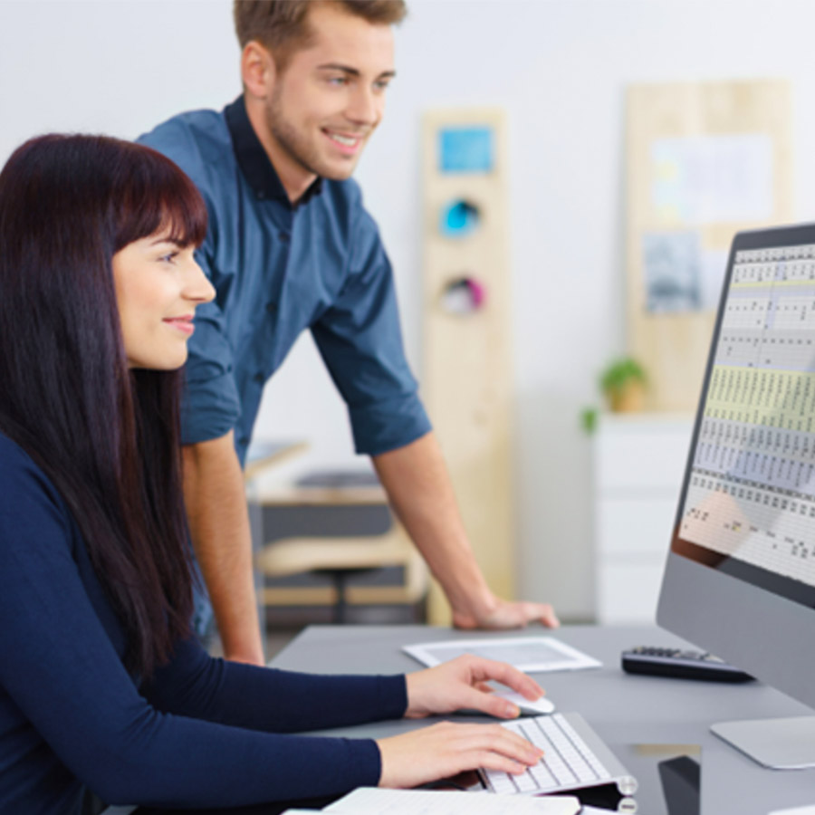 Unterweisungs-Manager-Modul-Bildschirmarbeit