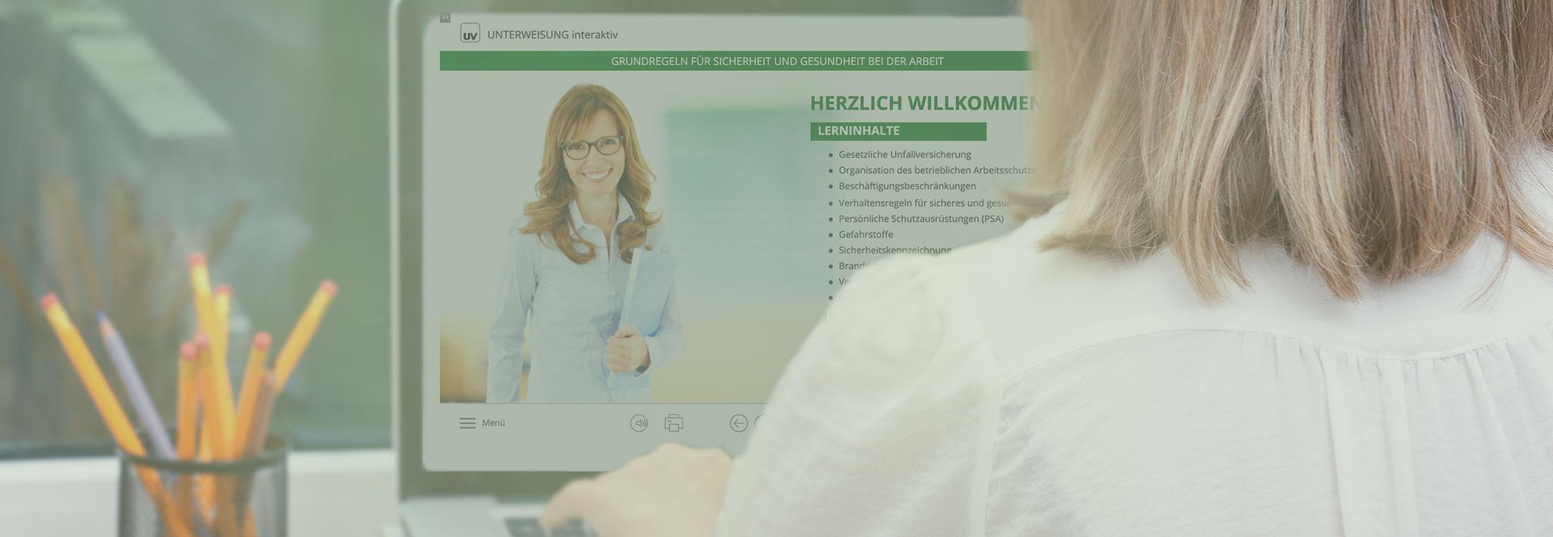 Unterweisungs-Manager: mit Arbeitsschutz-Modulen von Experten entwickelt